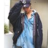カッコよくも可愛くも着られる☆おしゃれなブルゾンジャケットの人気レディースアウターコーデ!