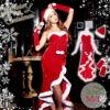 サンタコス【露出度高めセクシー系・ロング】などおしゃれレディース通販♡おすすめクリスマスコスプレ♡