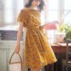 夏も注目!レトロコーデが流行【花柄シフォンワンピ&ロングカーディガン】などおすすめアイテムは?